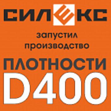 Блок автоклавного газобетона D-400, 250*625 (Силекс)