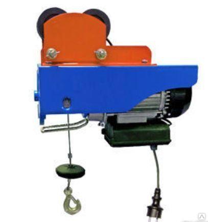 Тельфер с тележкой 250/500 кг, 12/6м TOR PA-250/500, цена в Владивостоке от компании МЕГАОПТ-ТОРГ